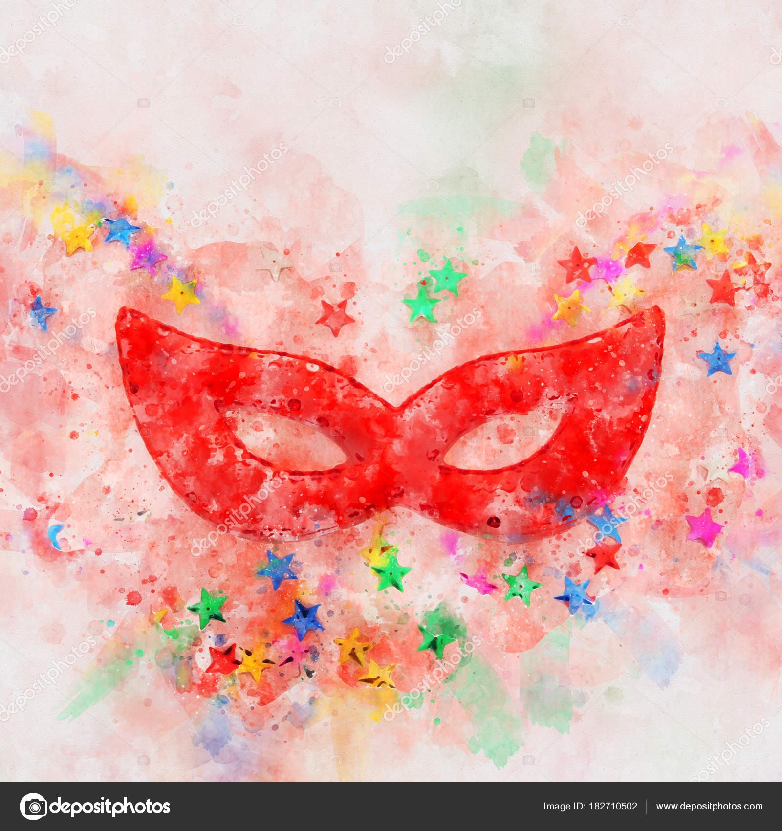 Abstract Masquerade Art