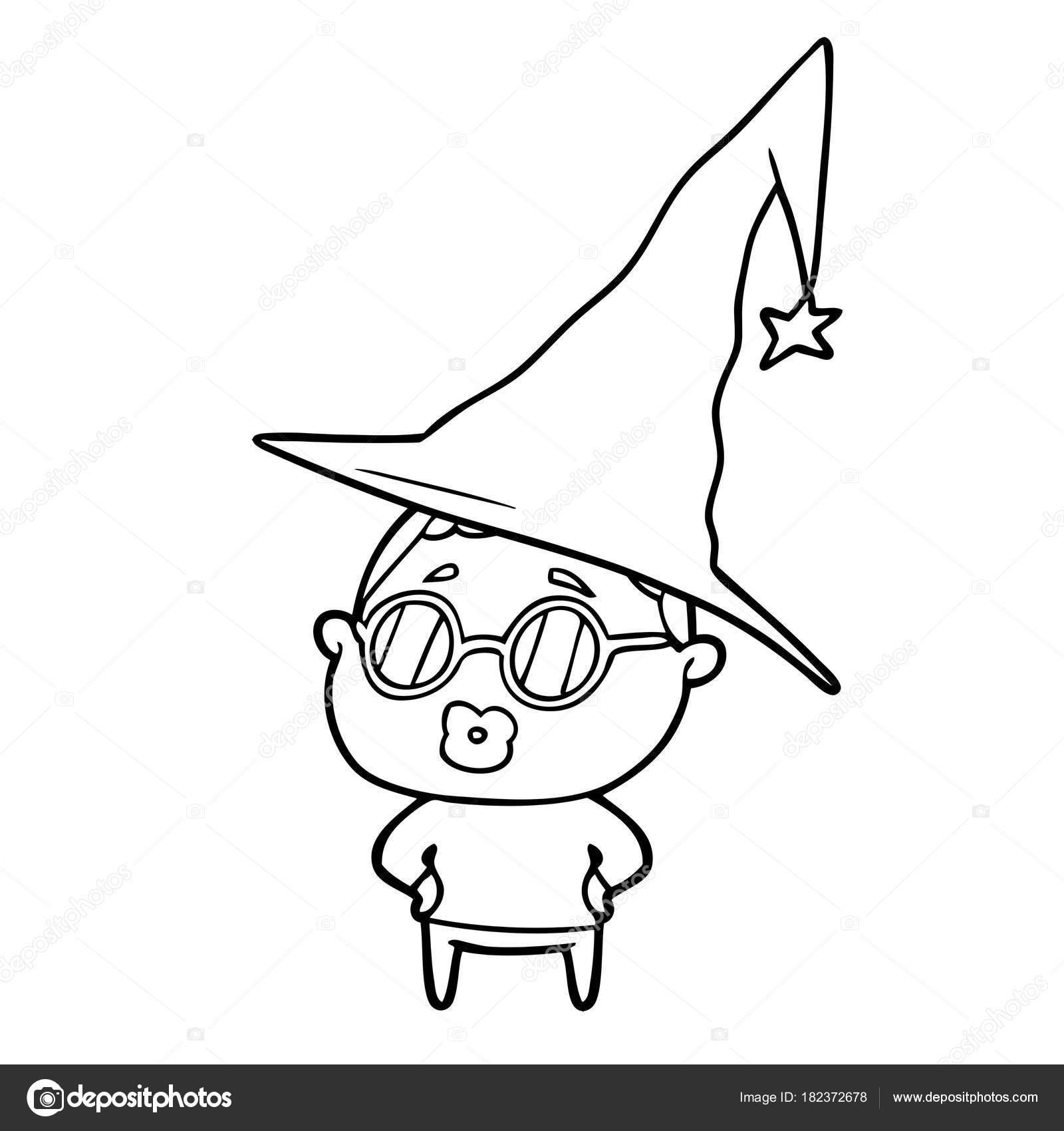 Mujer Bibliotecario Dibujos Animados Con Gafas — Vector de stock ...