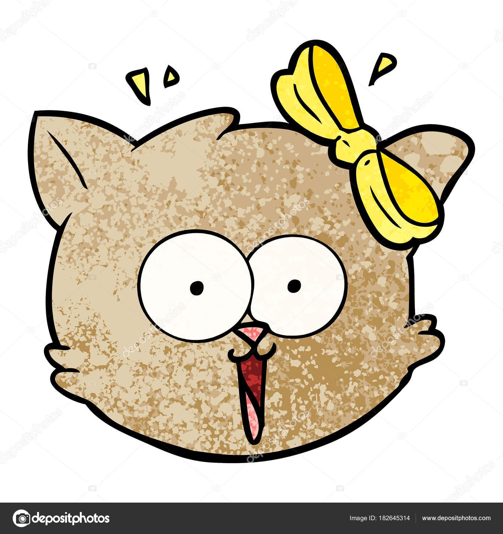 Dibujos Caricaturas De Gatos Tiernos Vector Ilustración Dibujos