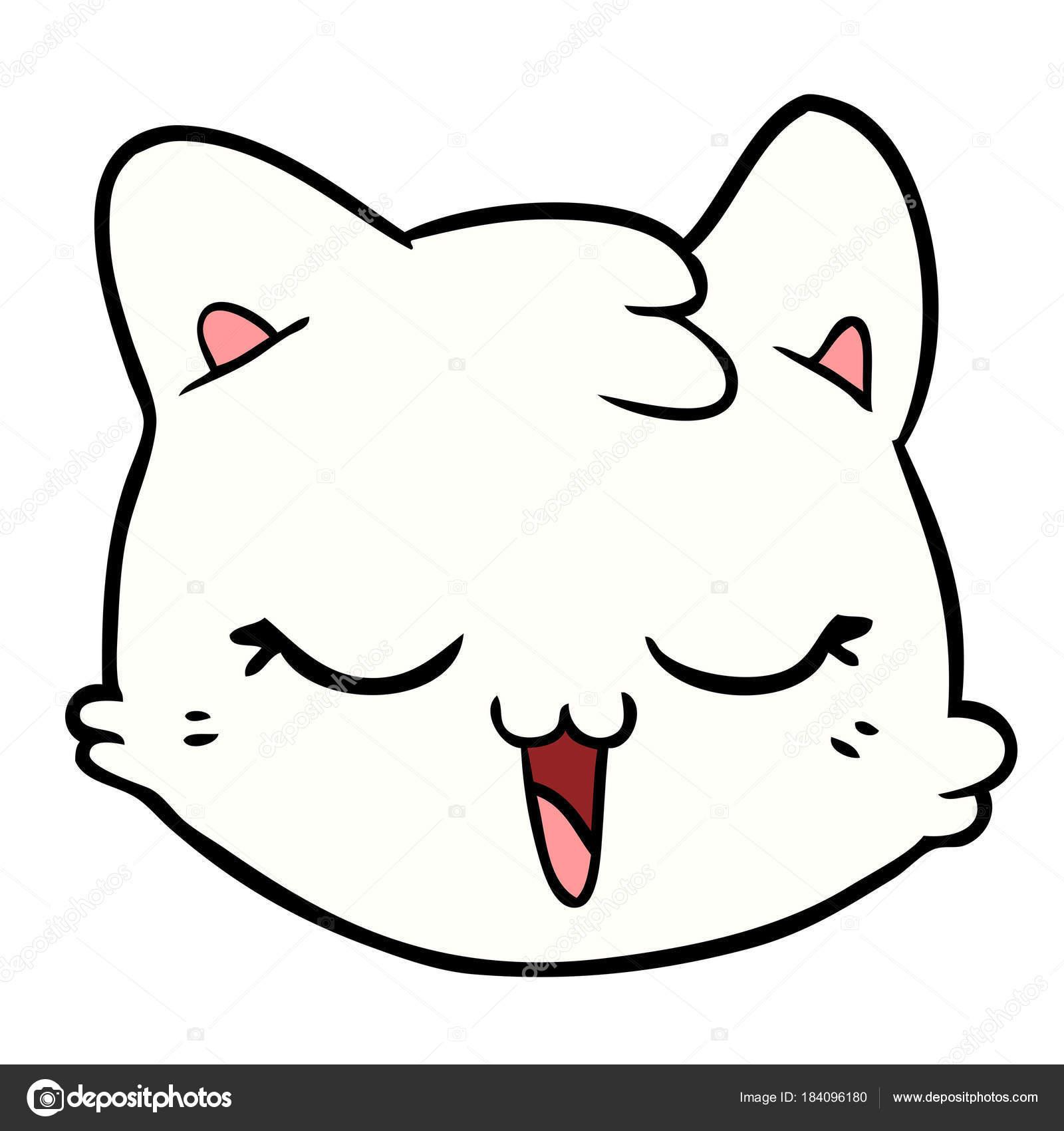 Imágenes Cara De Oveja Para Colorear Ilustración Vector Cara Gato