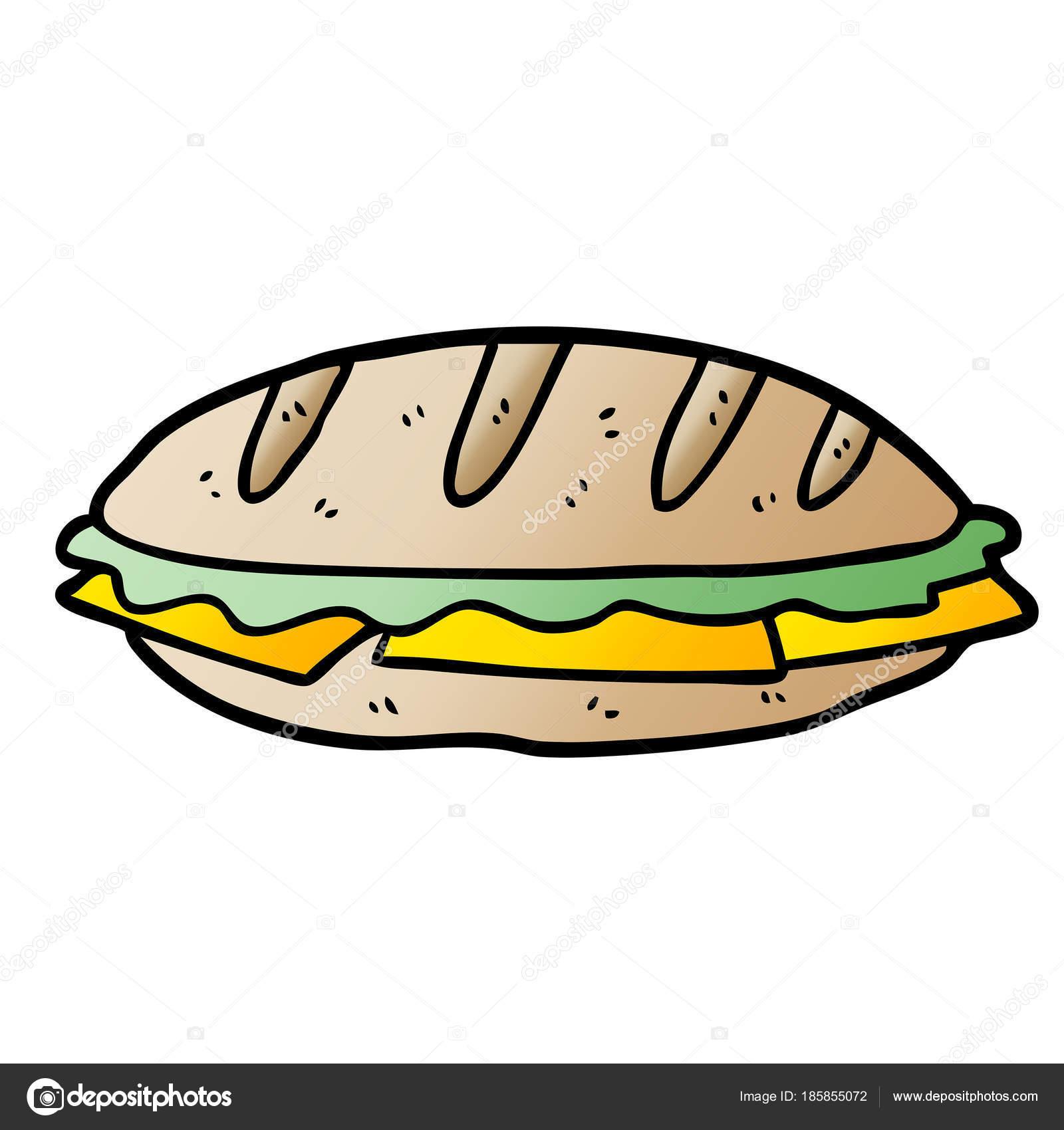 vector illustration sandwich cartoon character stock vector c lineartestpilot 185855072 vector illustration sandwich cartoon character stock vector c lineartestpilot 185855072