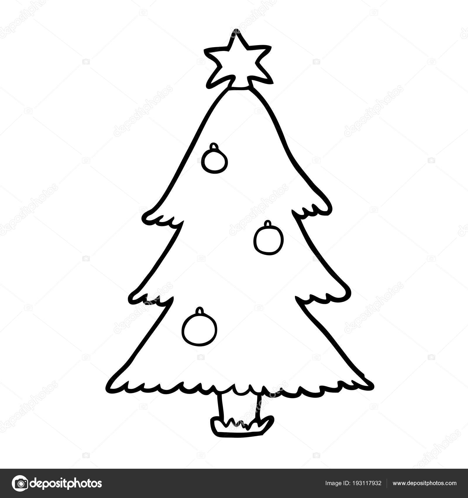 Desenho Uma Árvore Natal
