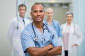 Spokojený ošetřovatel