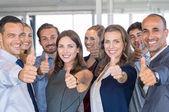 Fotografie Erfolgreiches Business-Team
