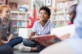 Fotografie Children listening stories