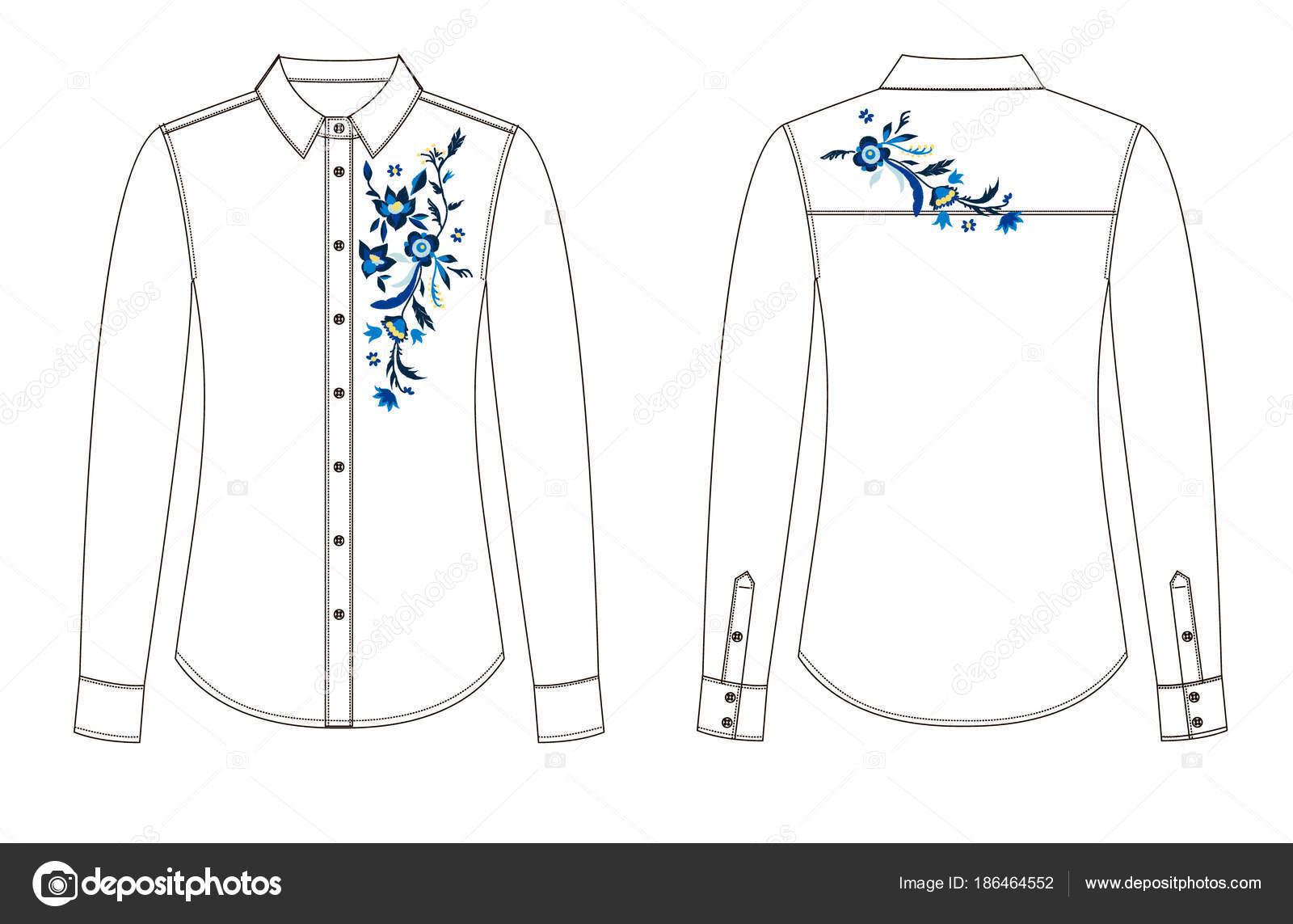 Imágenes: una blusa para dibujar | dibujo de piezas de la blusa con ...