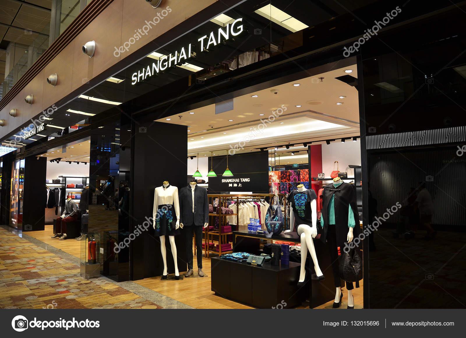 Tienda de moda Shanghai Tang dentro del aeropuerto de Changi de ...