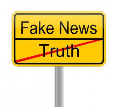 Fake News sign
