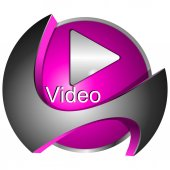 Play Video Button - 3D illustration