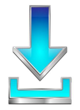 Download Symbol - 3D illustration
