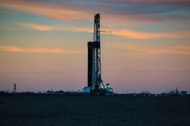American Shale Gas Drilling Rig
