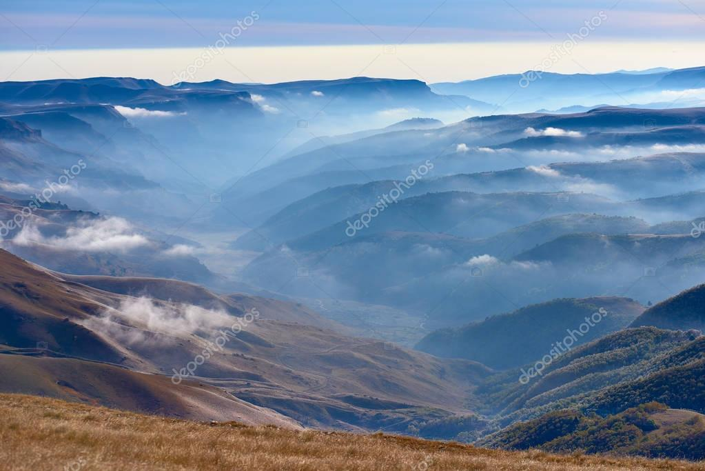 Dawn near Mount Elbrus