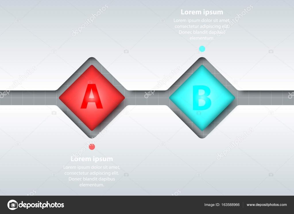 Dos temas de colores 3d fliped Plaza en la línea de tiempo tallan ...