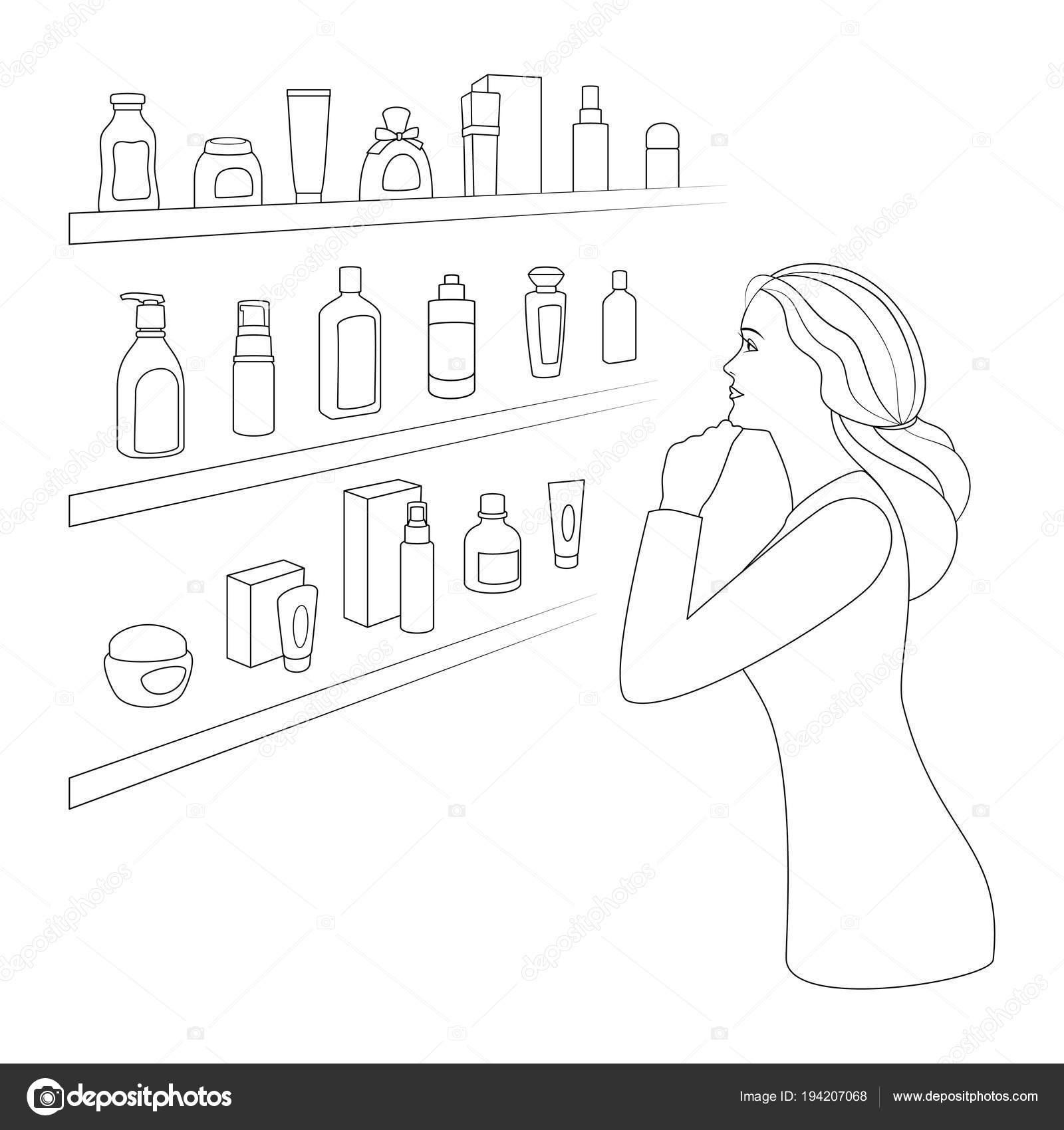 Imágenes Cosmeticos Para Colorear Mujer Elige Cosméticos Y