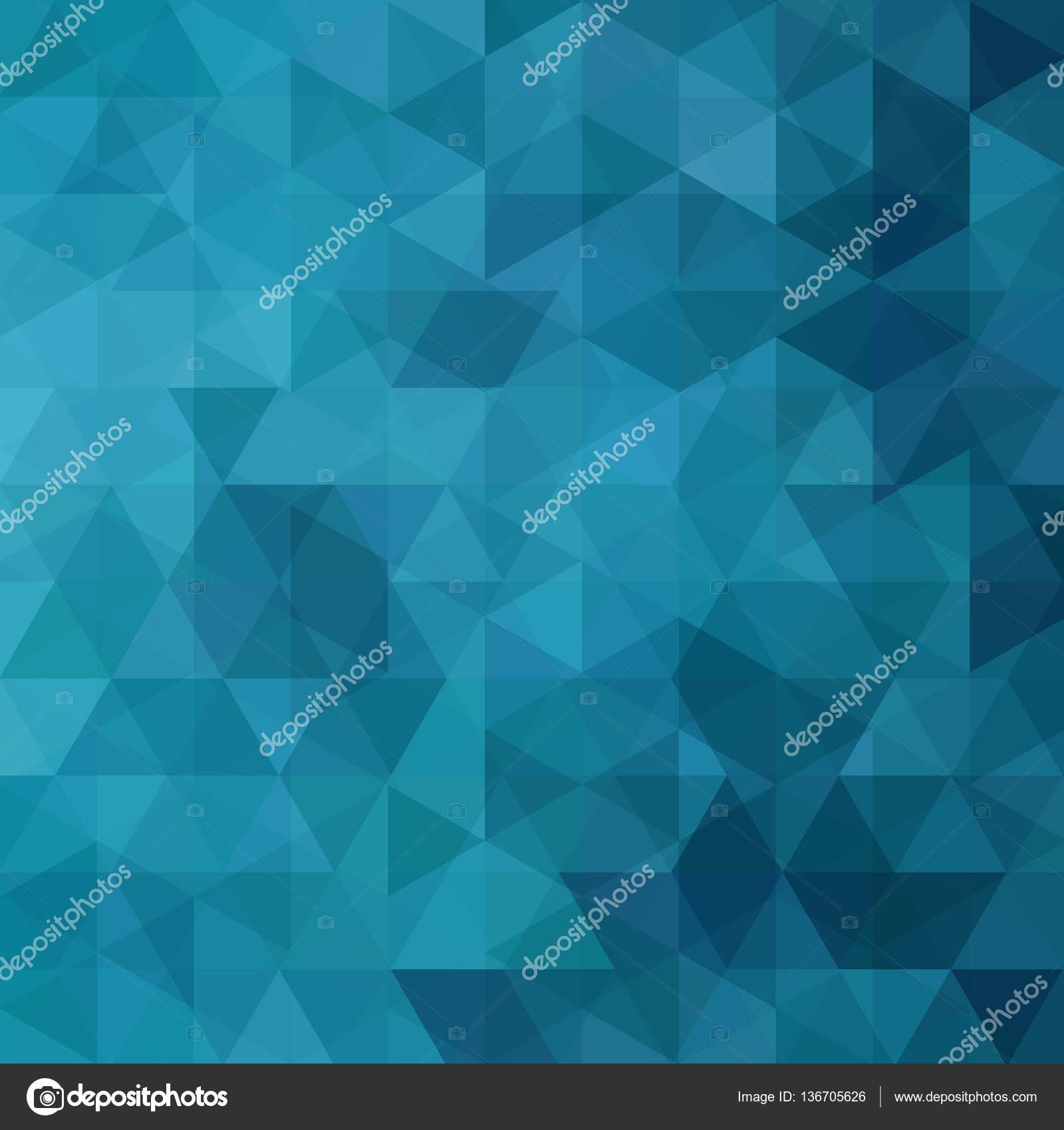 Zusammenfassung Hintergrund bestehend aus blauen Dreiecke ...