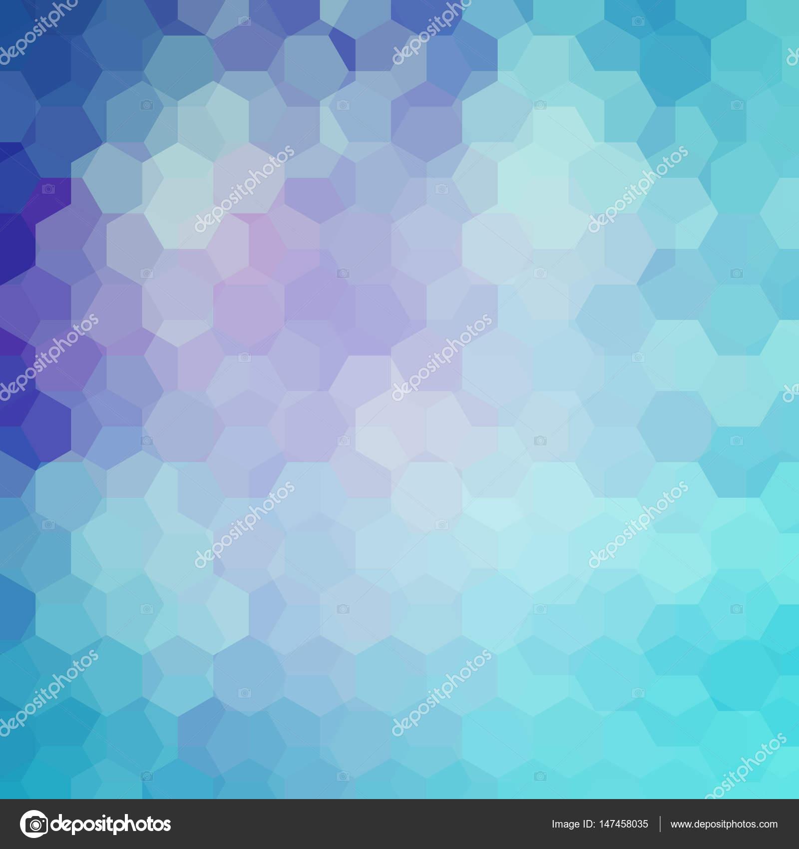 Hintergrund von geometrischen Formen. Blau, lila Farben. Mosaik ...