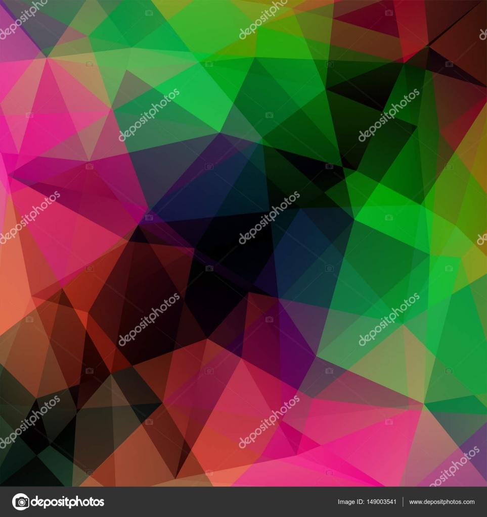 Fondo de vector poligonal. Puede utilizarse en el diseño de la ...