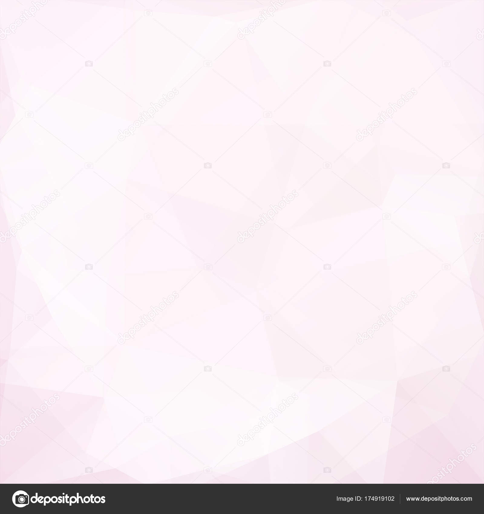 Abstract Background Consisting Of Pink White Triangles Geometric