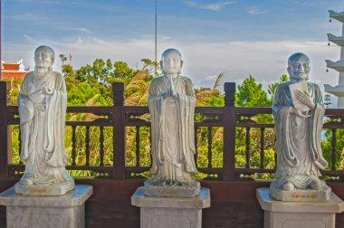 White statue of buddha