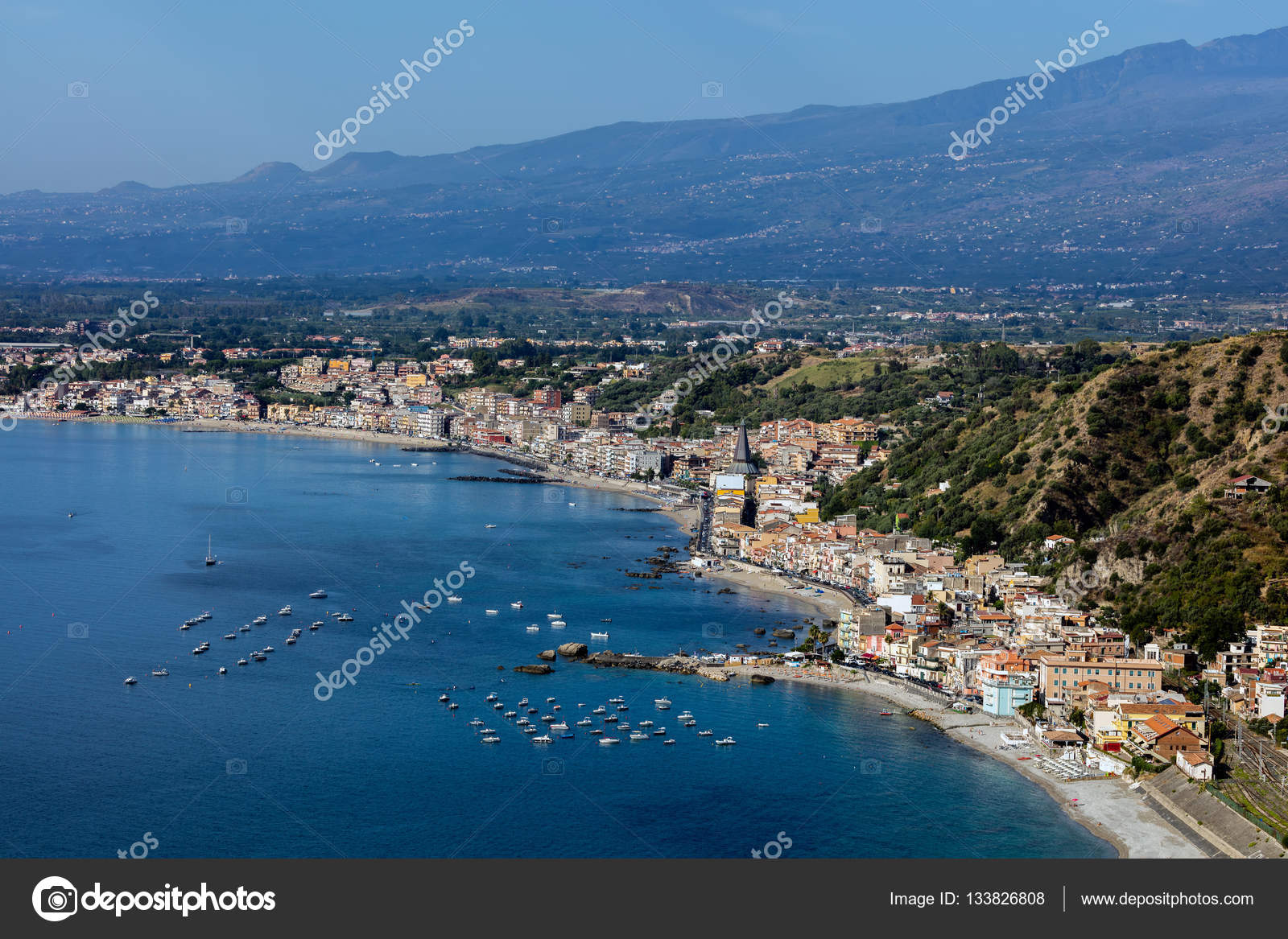 A giardini naxos in sicilia italia u2014 foto stock © vkorost #133826808