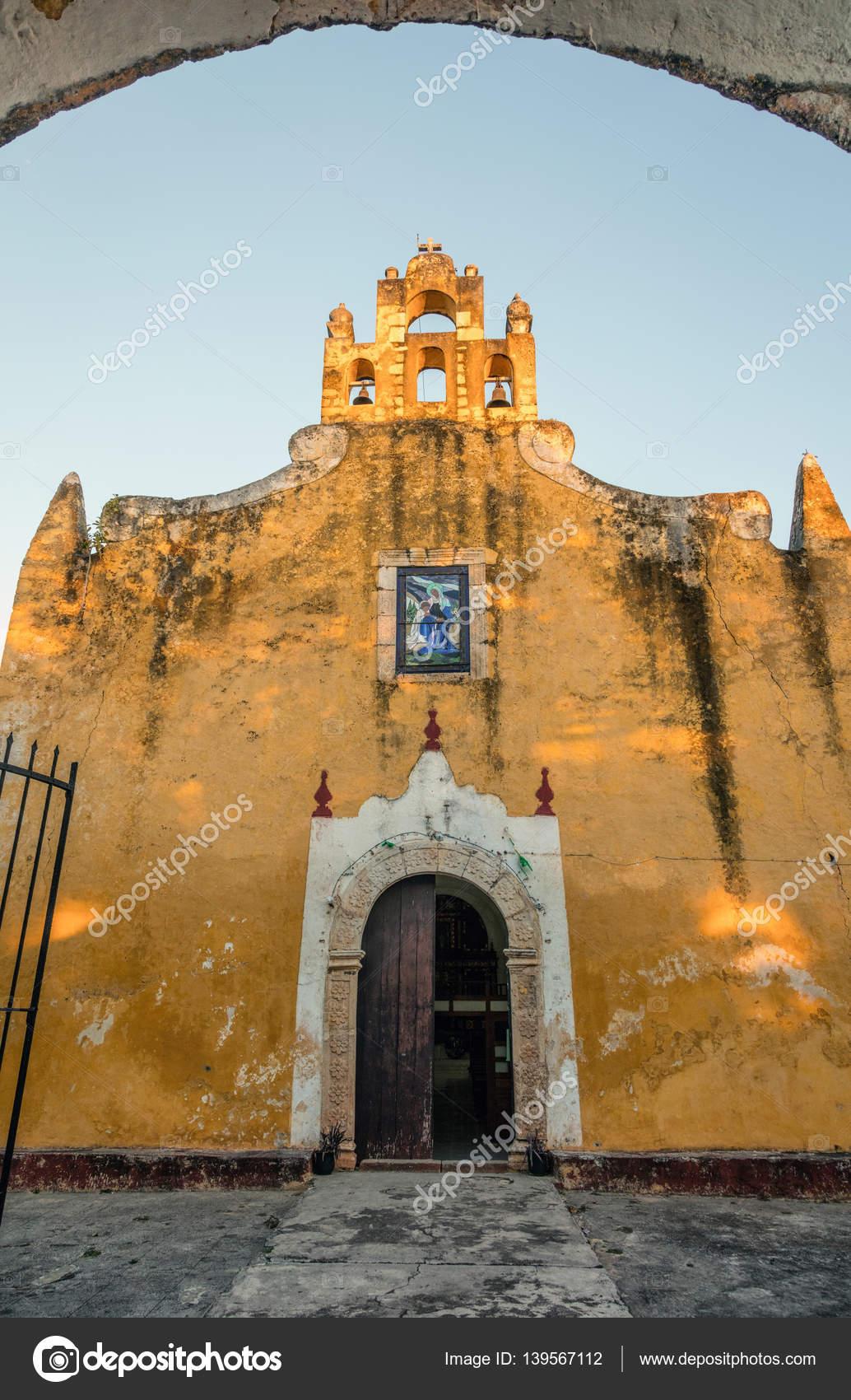 Iglesia de santa ana en valladolid yucat n m xico - Santa ana valladolid ...