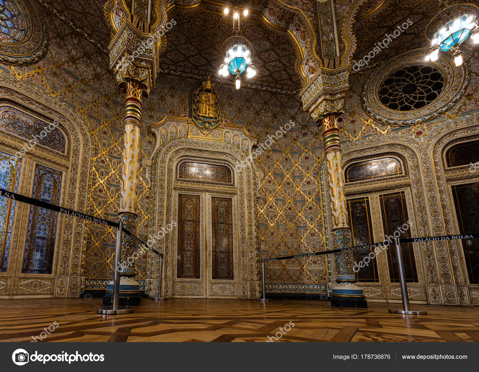 Arab The Bolsa Room In – Moorish Editorial Revival Palace Stock 8wPnX0Ok