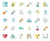Photo Medicine color icons, vector.