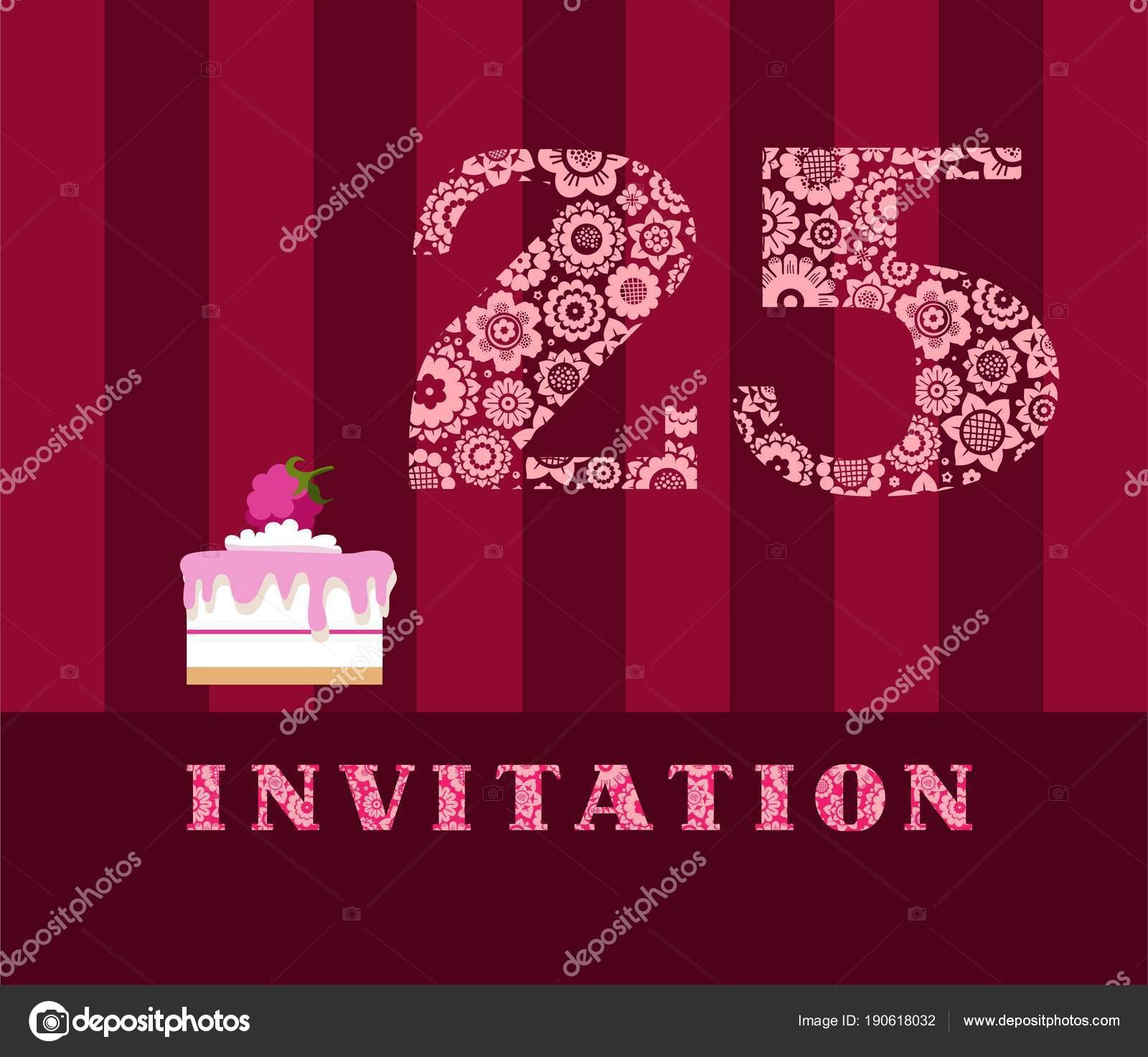 pozvánka na narozeniny anglicky Pozvánka Let Malinový Koláč Vektorové Anglicky Pozvánka Oslavu  pozvánka na narozeniny anglicky