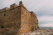 régi történelmi vár paphos a ciprusi
