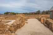 starobylý dům Thésea zříceniny v cypru