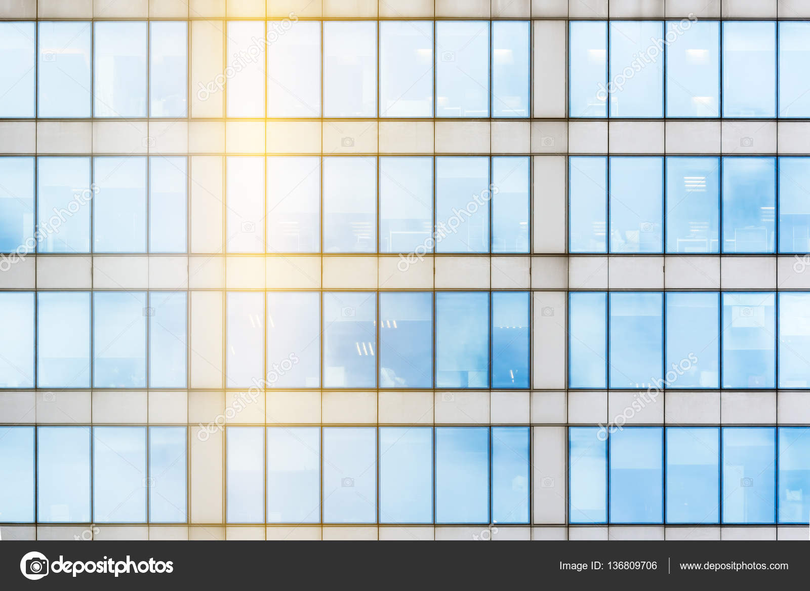 Glass facade texture  Glass facade texture — Stock Photo © wastesoul #136809706