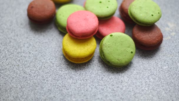 soubory cookie barevné Makronku bude parta