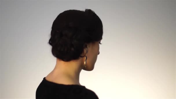 Beauty Young Girl With Short Hairstyle Stock Video C Ponomarencko 188490526