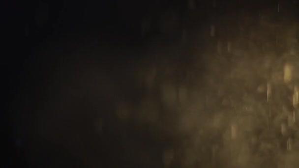 vízcseppek, fekete háttér, absztrakt