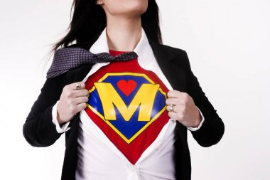 Mother Tears Clothing Revealing Superhero Uniform Flight Suit Supermom