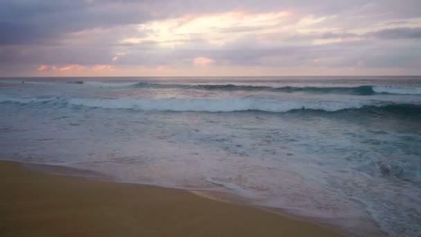 North Shore Oahu Hawaii Pacific Ocean Surf Sunset