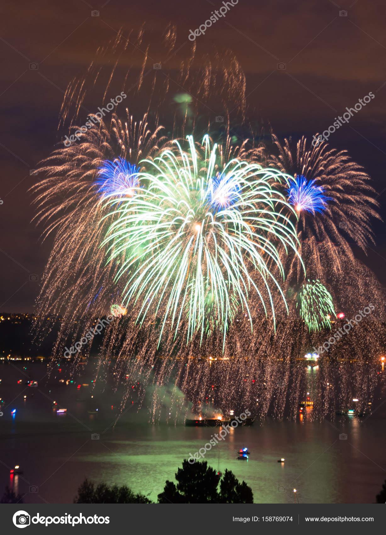 4 de julio celebración Commentment Bahía de Tacoma Washington ...