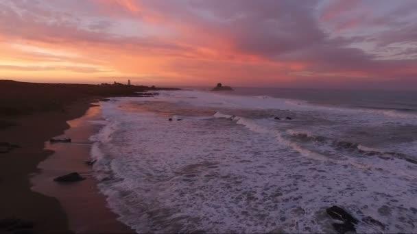 Pacific Coast Light Station San Simeon California Lighthouse Sunset