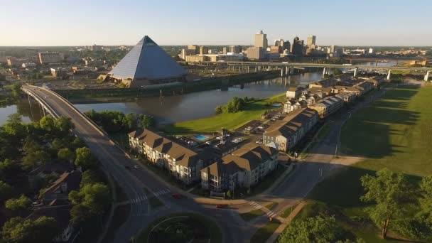 Memphis Tennessee Panorama Mississippi River Hernando de Soto most