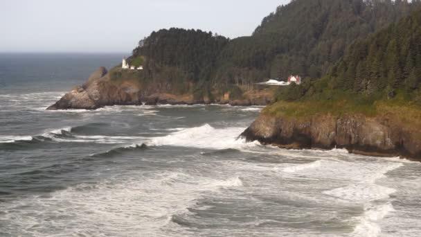 Heceta maják Oregon pobřežních mořských námořní pobřežní maják