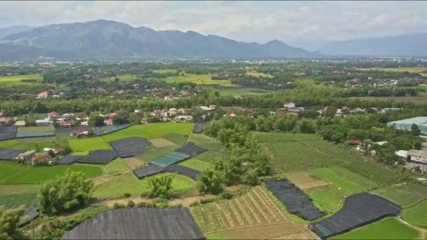 villages among green fields