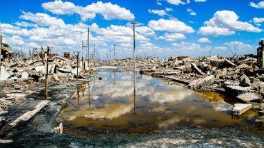 Hayalet şehir kalıntıları