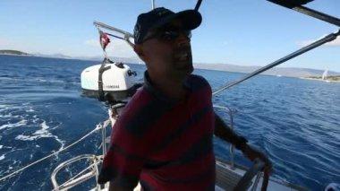 námořník účastnit plachetnic