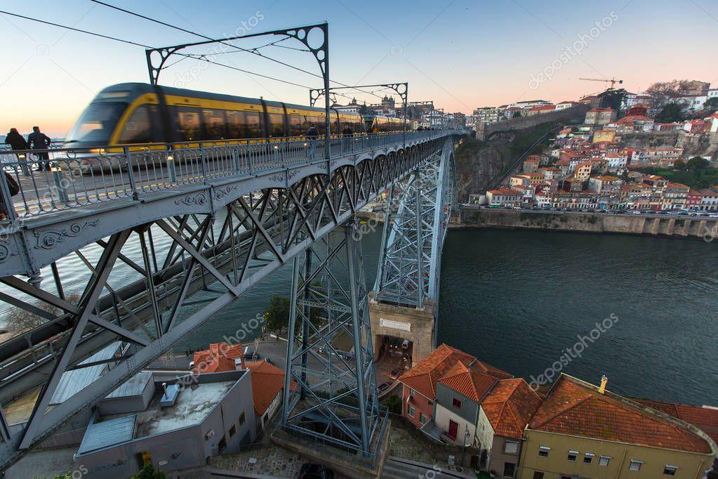 Train of Porto Metro