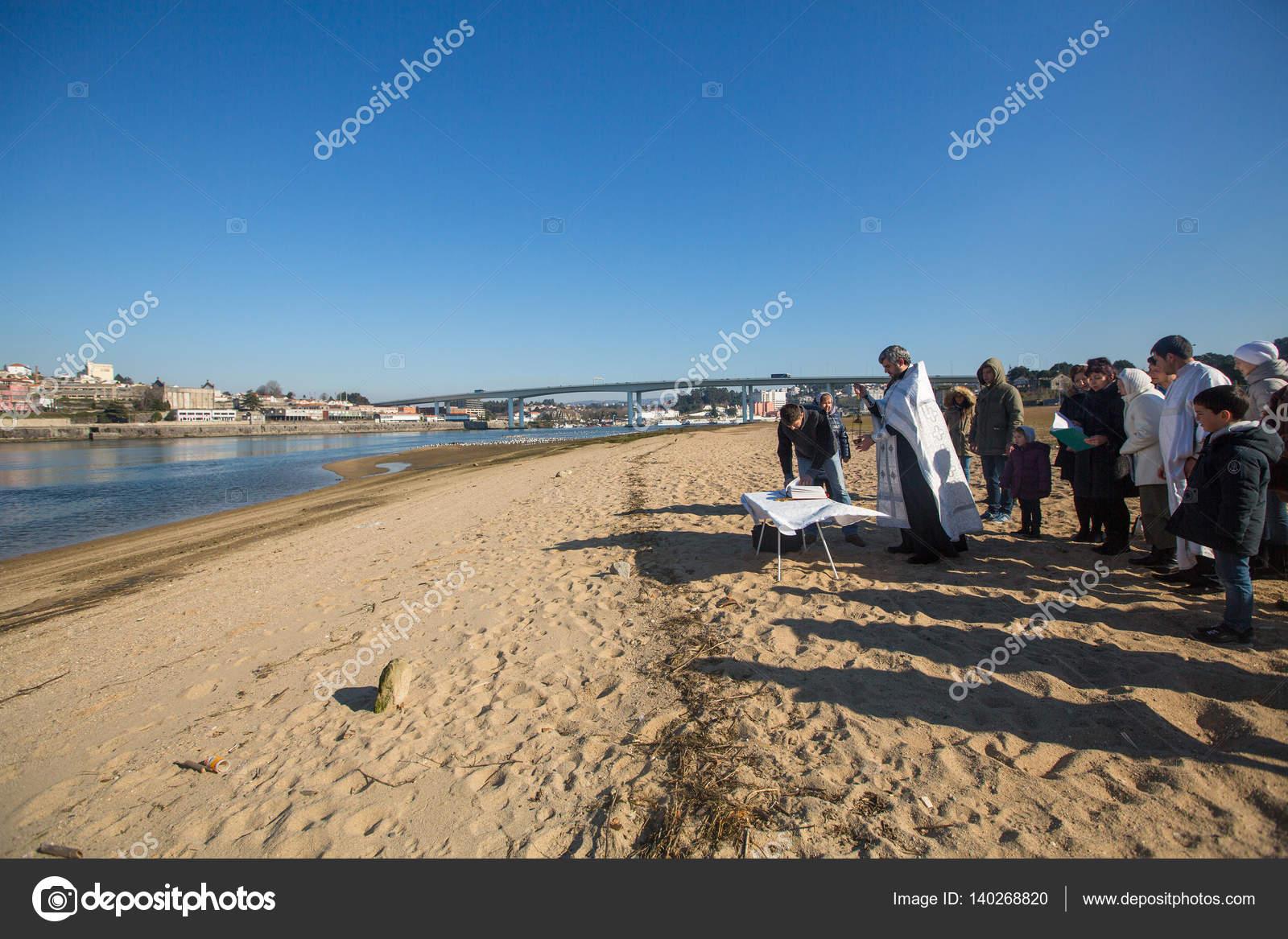 Taufe Von Jesus Feiern Redaktionelles Stockfoto