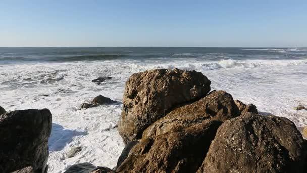 Ocean surf coast