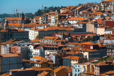 View old downtown of Porto