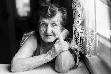 Portrait of elderly grandmother.