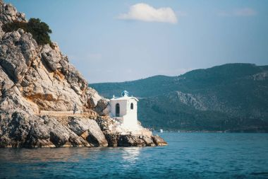 Lighthouse on the Greek island