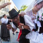 Účastníci festivalu folklorní Porto